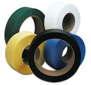 "16"" x 6"" Core Polyester Strapping"