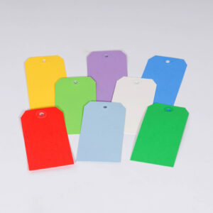 13 Point Colored Tags - Individual Colors